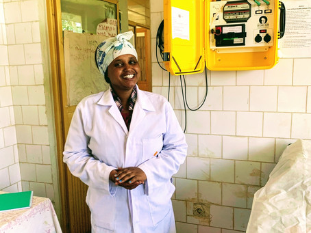 Hamlin College of Midwives graduate transforms a struggling health centre