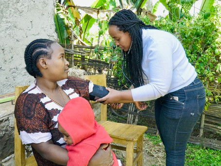 Former GreenLamp-sponsored student is first female midwife to head up Ethiopian health centre