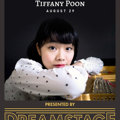 Tiffany Poon - Live Stream Concert on Stage! - August 29th @ 11 AM EDT