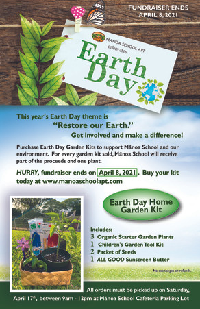 Mānoa School Celebrates Earth Day!