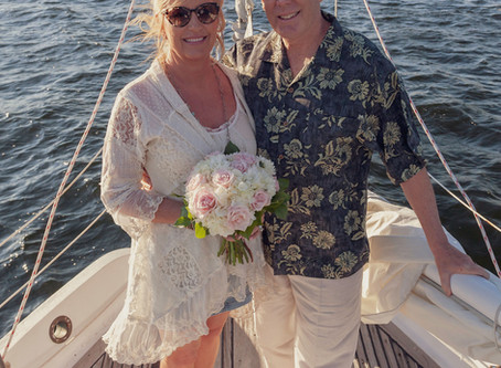 Have Your Destination Wedding On a Classic Sailboat
