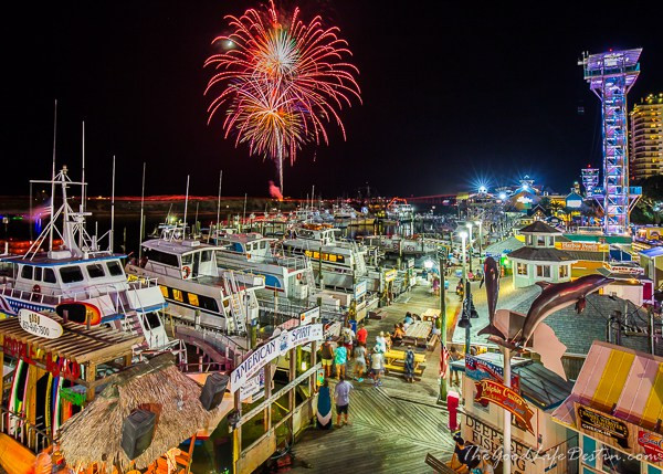 destin, fireworks, fl, Destin Harbor
