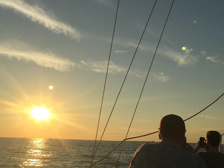 Fall Break is the Best Time to Go Sailing in Destin.