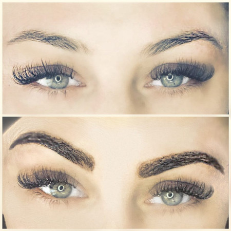 Eyebrow Henna