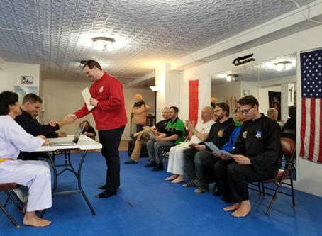 Judge/Referee Training in Sports Silat
