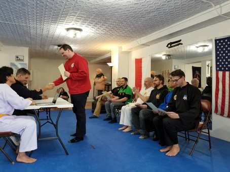 Judge/Referee Training in Sports Silat