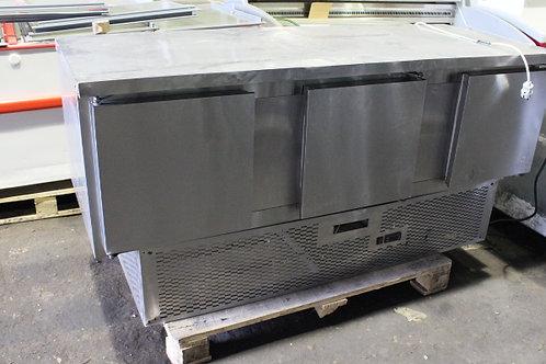 Холодильный 3-х дверный стол нержавейка бу