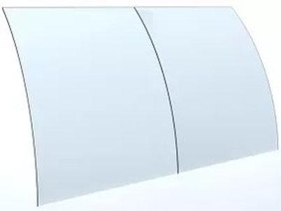 Переднее (фронтальное) стекло для холодильных витрин модели Полюс