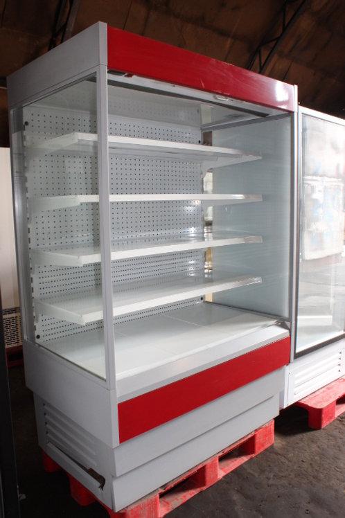 Холодильная горка пристенная
