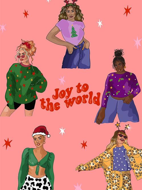 Christmas Card- Joy to the World