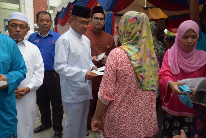 Kumpulan BDB Sumbang RM60,000 kepada Penduduk DUN Bakar Bata