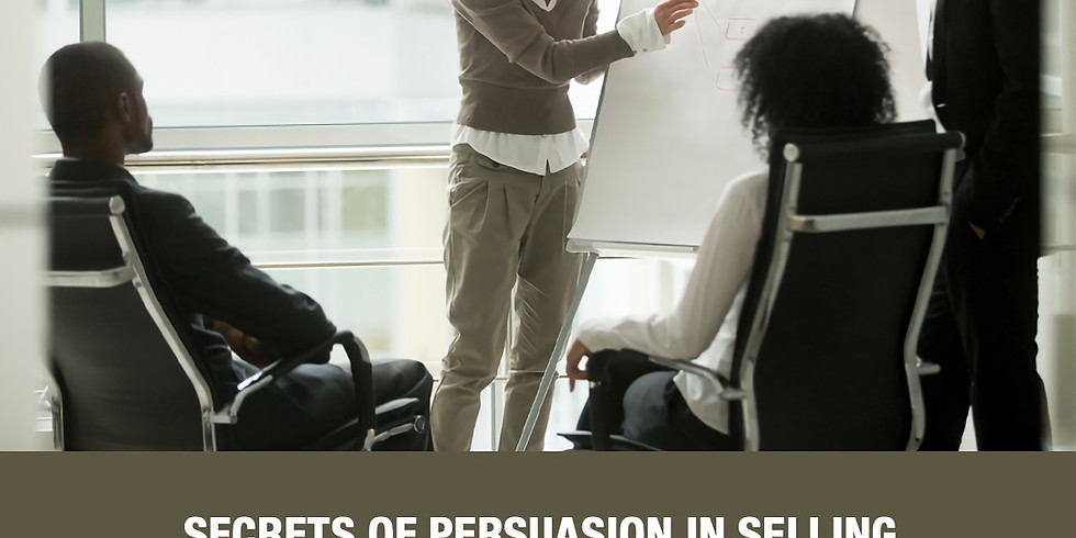 Secrets of persuasion in selling