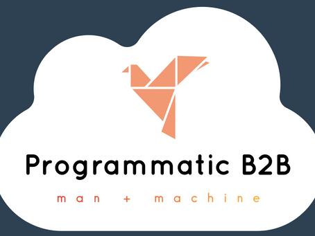 The Official Programmatic B2B blog