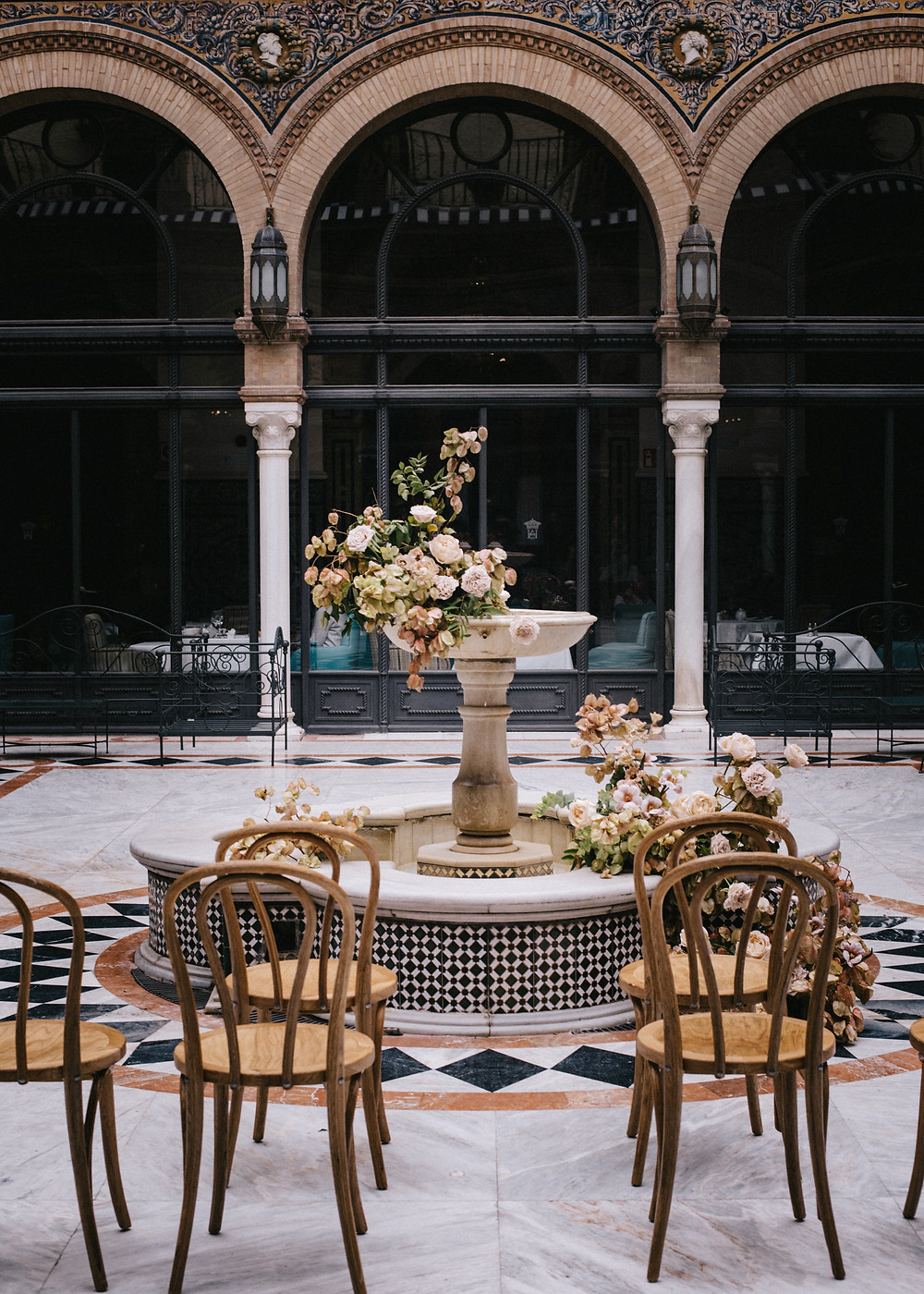Editorial boda en Hotel Alfonso XIII
