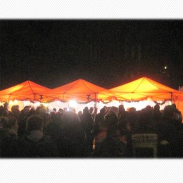 Abendstimmung beim Weihnachtsmarkt in GE-Ückendorf 2016