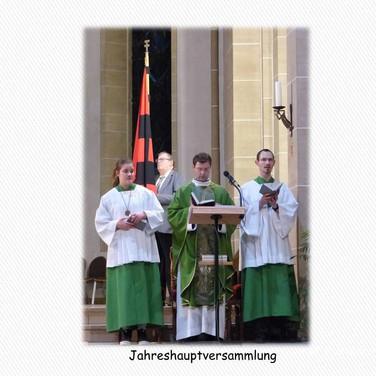 Hl. Messe vor der Jahreshauptversammlung 2016