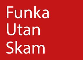 Funka utan skam ett unikt projekt