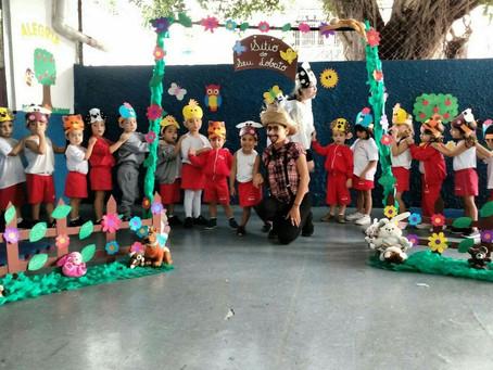 DIA DO FOLCLORE - EDUCAÇÃO INFANTIL (23/08/18)