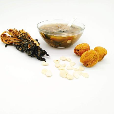 杏仁菜乾燉豬肺湯
