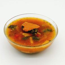 哈密瓜玉竹麥冬螺片燉烏雞湯