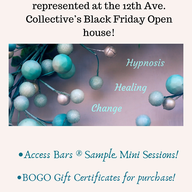 Gift Certificate Sale & Open House
