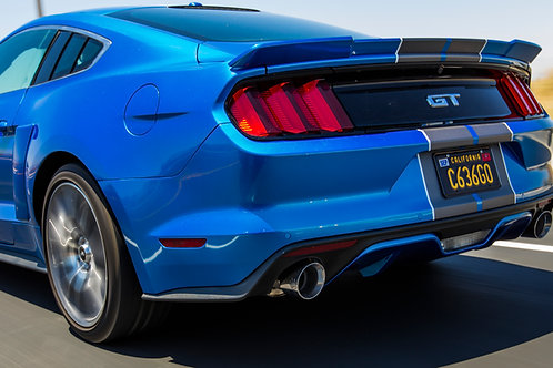 """2015-2017 S550 Mustang GT Fastback 3"""" Catback Exhaust system"""