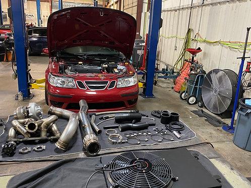 1999-2009 Saab 9-5 Full Send 660 Big turbo kit (get some)