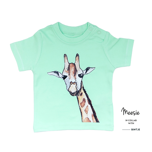 T-shirt Kids Giraf