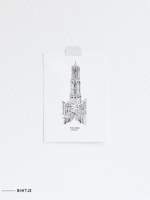 Postcard de Dom Utrecht