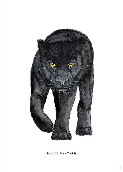 Poster Zwarte panter