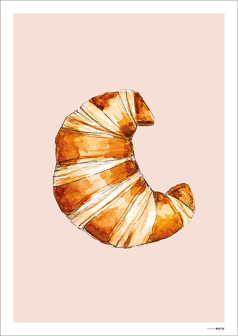 Poster Food Croissant 15x20