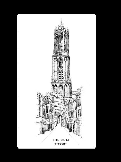Poster Domtoren van Utrecht