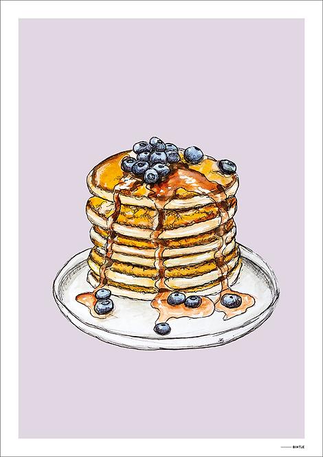 Poster Food Pancake 15x20