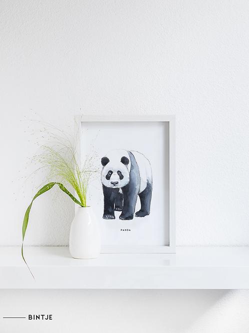 Poster Panda A4