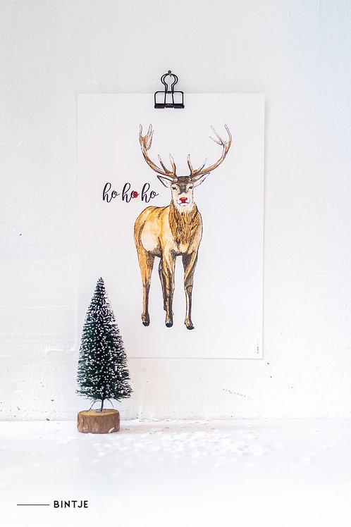 Poster Rudolph A4