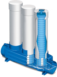système de traitement Hydro-Kinetic feu filtre alumine phos-4-fad