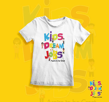 Kids Dream Jobs T-shirt Mock Up Designs