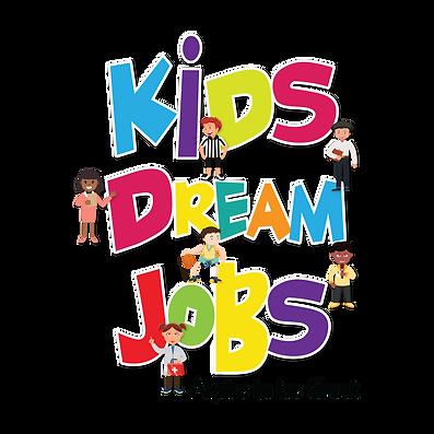 Kids Dream Jobs Main Logo Transparent ba
