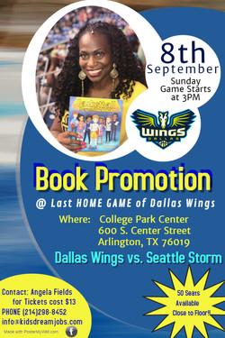 A Fields Flyer Book Promo-Dallas Wings