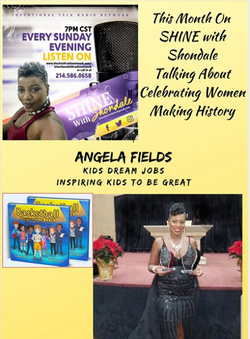 Radio Interview Shine with Shondale