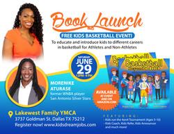 Book launch Flyer