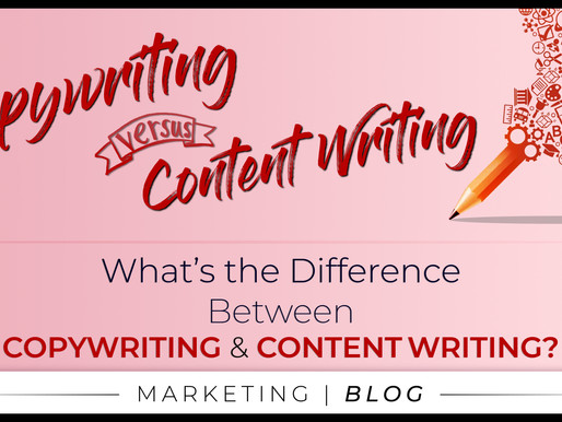 What's The Difference Between Copywriting & Content Writing?