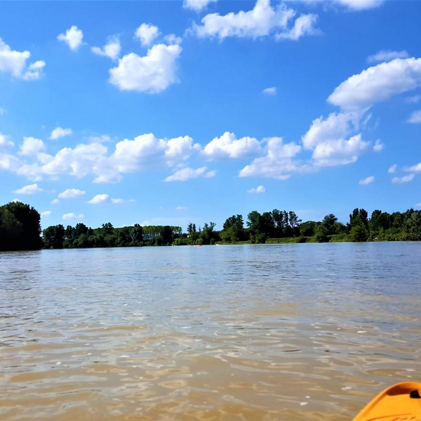 Découverte de Garonne en Canoë ou bateau