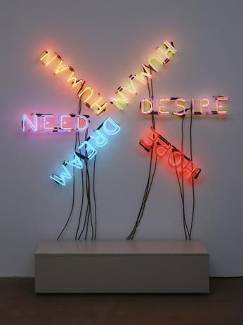 Bruce Nauman 'Human/Need/Desire' (1983)