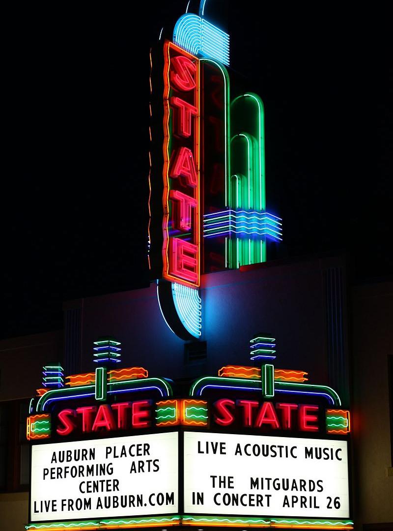 Neon Sign, Auburn, California (1937)