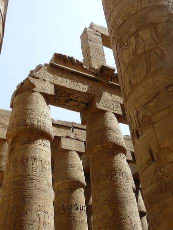 Temple at Karnak, Egypt