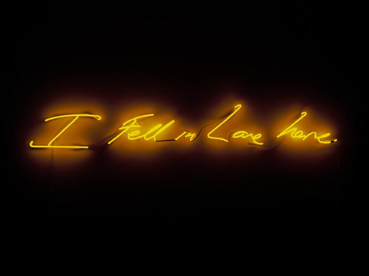Tracy Emin 'I Fell in Love Here' (2014)