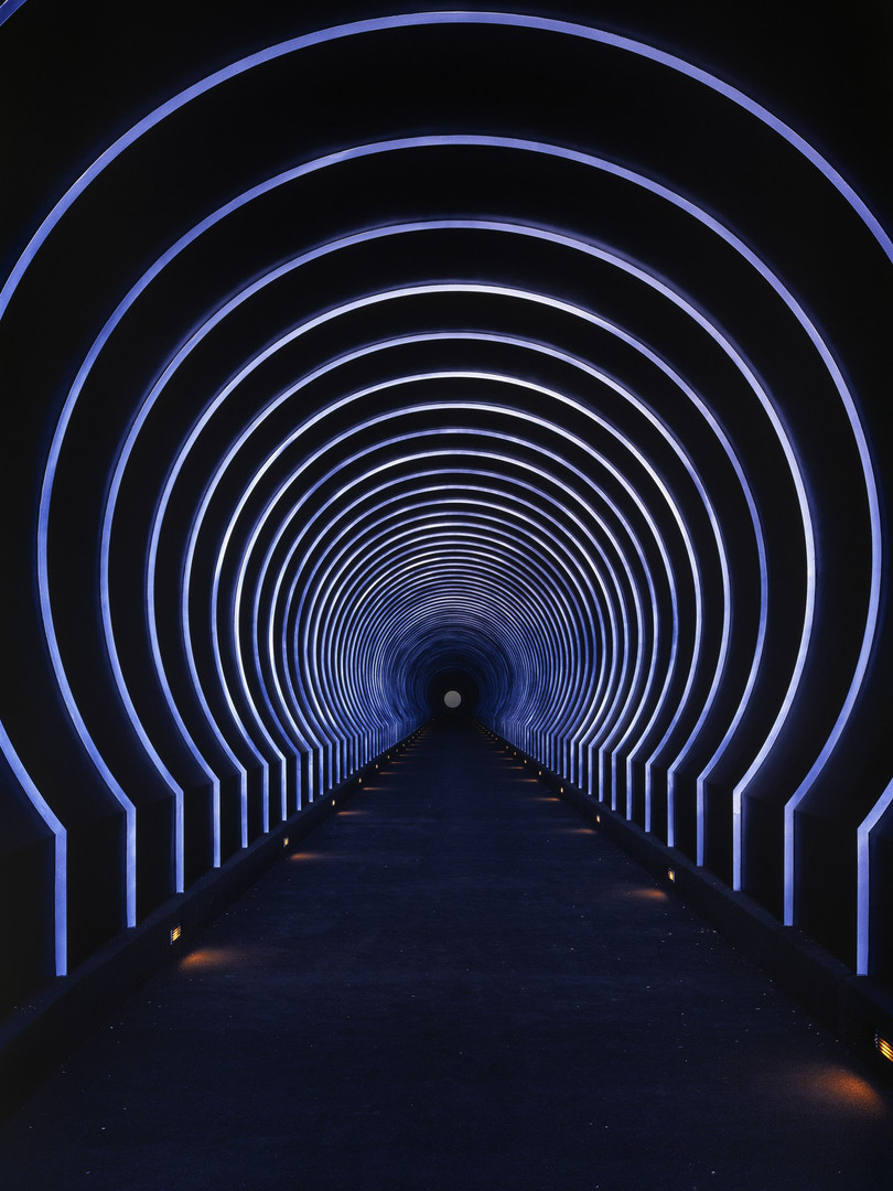 James Turrell 'Roden Crater: Alpha (East) Tunnel'