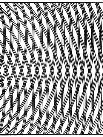 Thomas Young Sketch of the Double-Slit Experiment Supporting Wave Theory