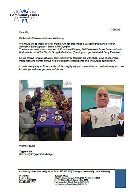 Community Links Elders Health Fitness Mi